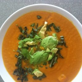 thai carrot and sweet potato soup