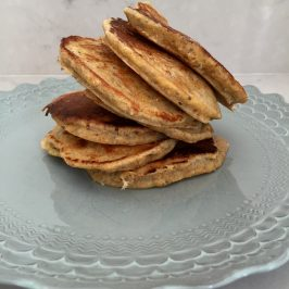 grain packed healthy pancakes