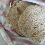 speedy wholemeal flatbreads