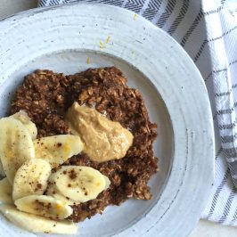 chocolate orange porridge