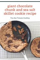 giant-chocolate-skillet-cookie