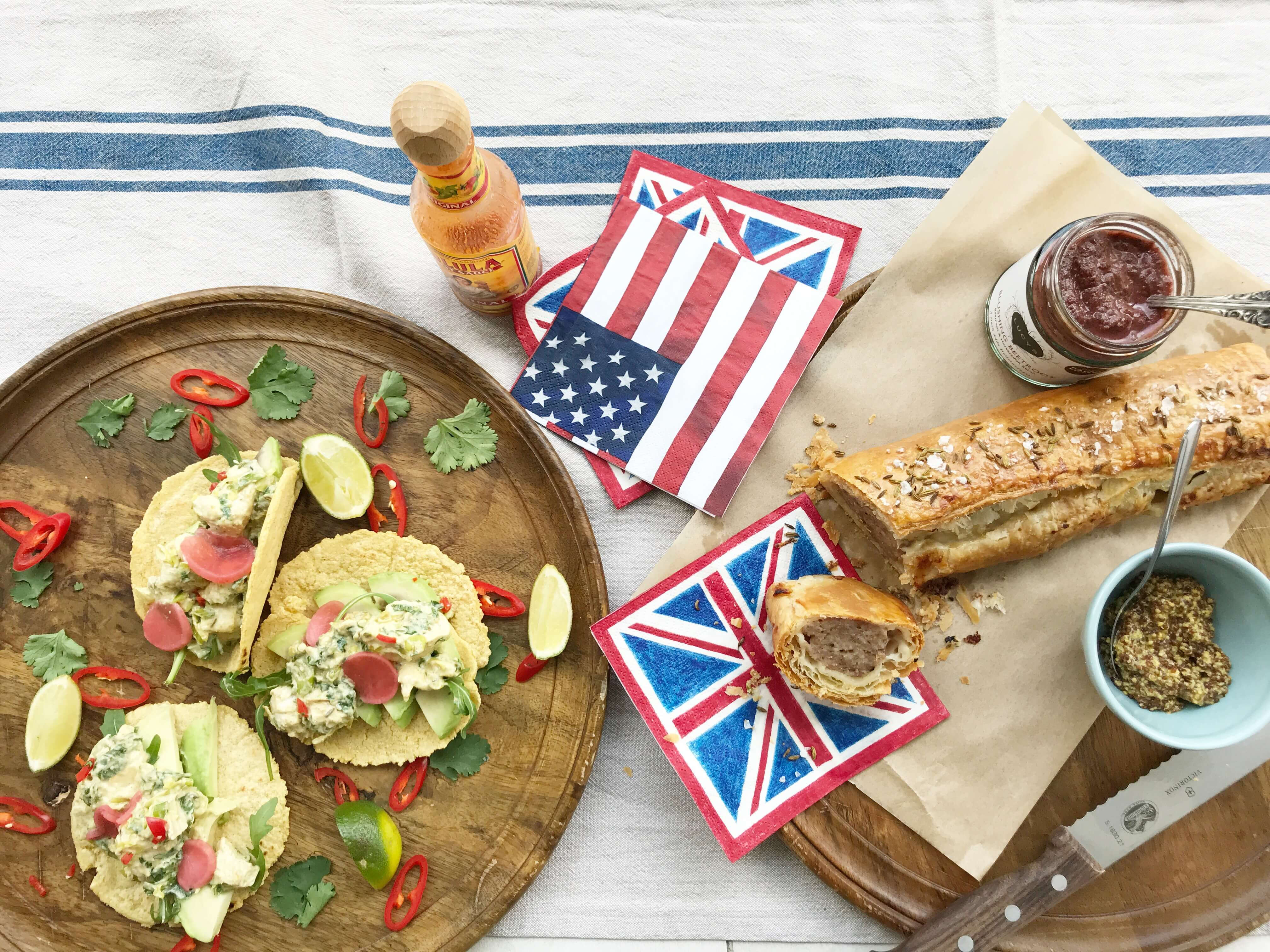 Royal Wedding Party Menu The Best Of California And Britain You