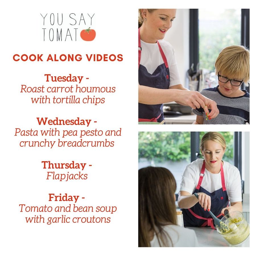 cooking class video